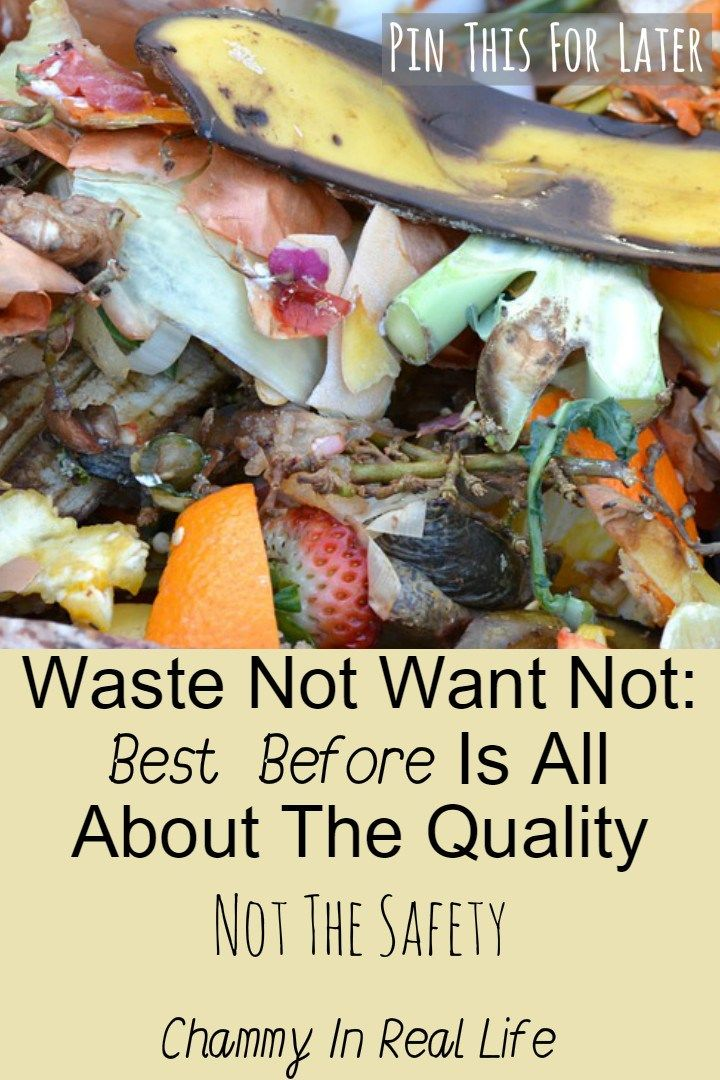 "I hate food waste & not knowing the difference between ""Best Before"" & ""Use By"" is a real bug bear of mine. Best before is all about the quality!"