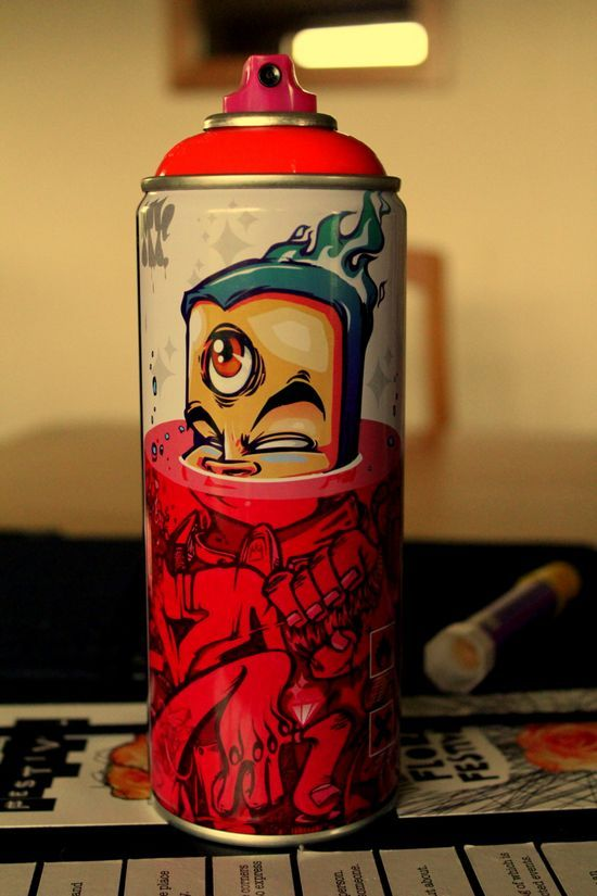Graffiti art by Mr. Wany #spraycan # #streetart #inspirational
