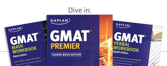Kaplan GMAT books