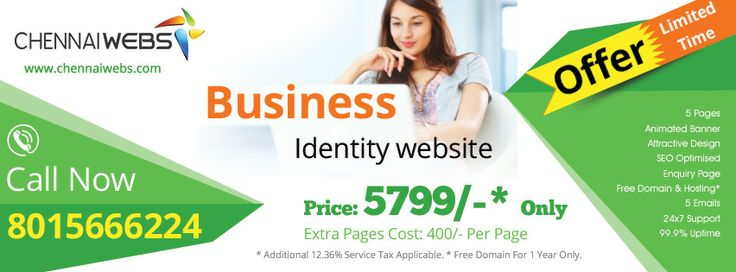 Get user friendly websites at just Rs.5799 that includes 5 pages, animated banner, attractive design, SEO optimized and much more.