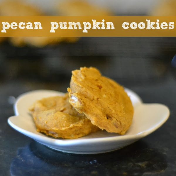 Pecan Pumpkin Cookies | Sweets | Pinterest