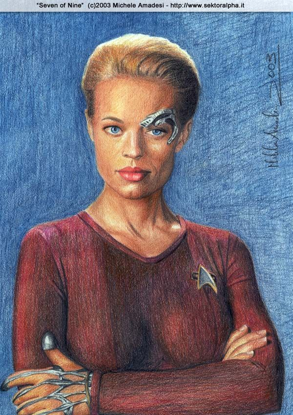 Star Trek: Seven of Nine by shintetsuya.deviantart.com on @deviantART