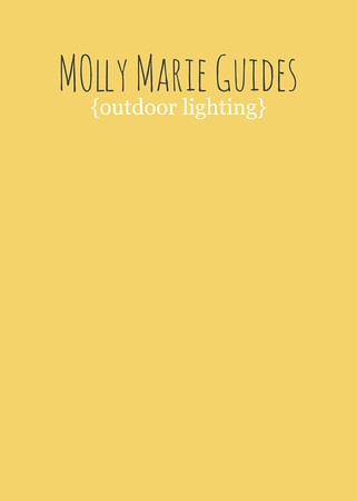 Molly Marie's Natural Light Guide