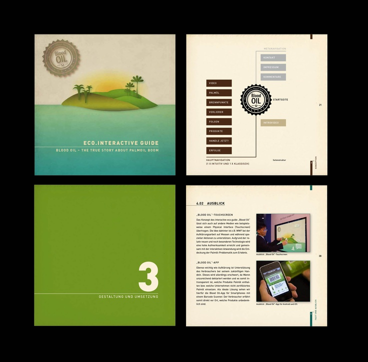 Booklet Design Ideas 25 best ideas about brochure design on pinterest brochures creative brochure and booklet design Blood Oil The True Story About Palmoil Boom Booklet Design 2011