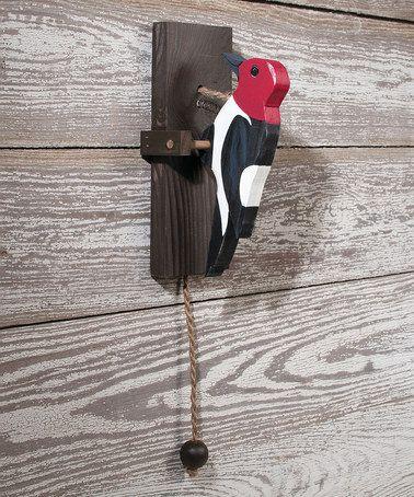 Love this Woodpecker Doorbell on #zulily! #zulilyfinds
