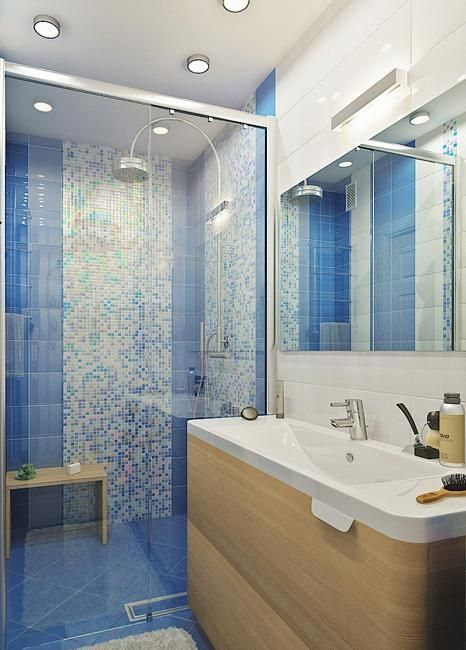 193 best images about Bathrooms on Pinterest White subway tiles - ideen für badezimmer fliesen