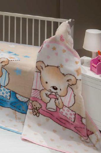 Dětská deka MINK BABY_312 o rozměru 100x120 je ušita ze 100% polyesteru a je velmi příjemná k pokožce!