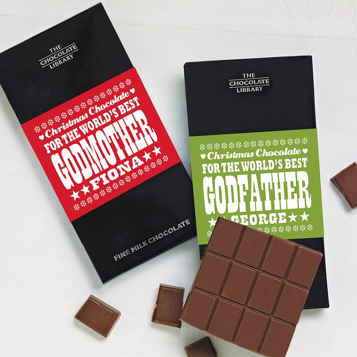 19 best custom board godparent gifts rachel images on godparents godchildren chocolate bars negle