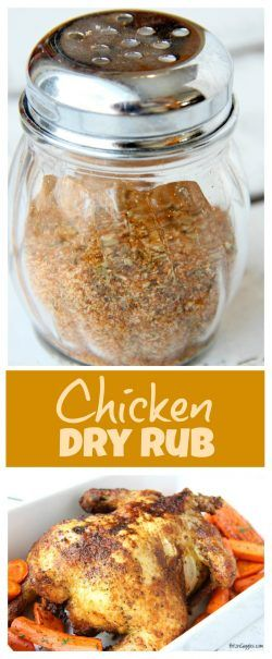 Chicken Dry Rub - Whether you're grilling, roasting or air frying chicken, this dry rub adds winning flavor each and every time!