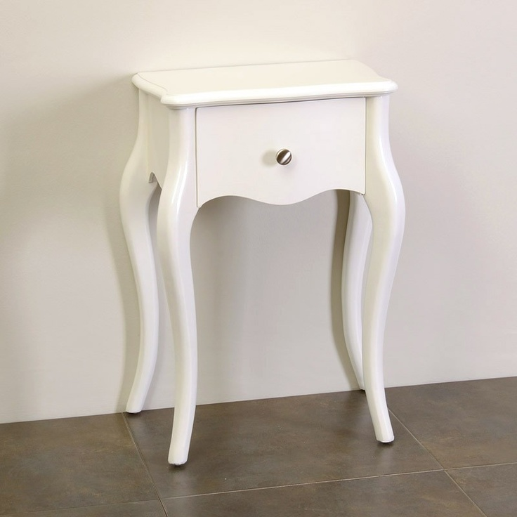 Mesita auxiliar de estilo franc s fabricada en madera con - Mesita auxiliar sofa ...