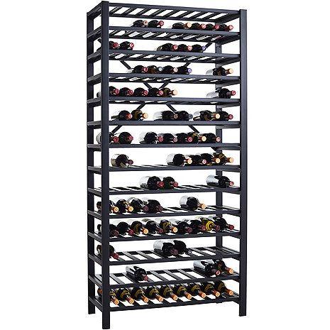 Free Standing Metal Wine Rack (126 Bottle) at Wine Enthusiast - $299.95
