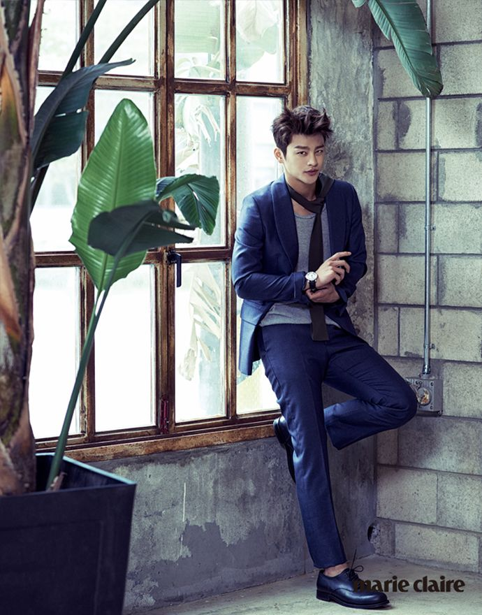 Seo In Guk for September issue of Marie Claire
