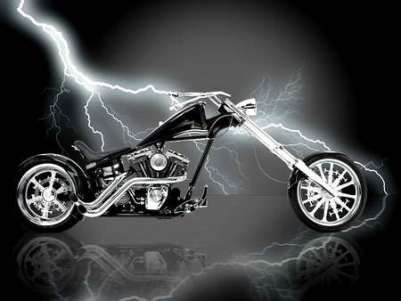 Harley Davidson Chopper | I Love Harley Bikes