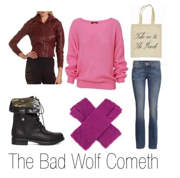 Rose Tyler inspired fall fashion - Doctor Who geek style