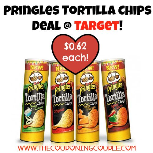 AWESOME Deal be sure to pick yours up through 8/8! Pringles Tortilla Chips Deal @ Target ~ Only $0.62!  Click the link below to get all of the details ► http://www.thecouponingcouple.com/pringles-tortilla-chips-deal-target-only-0-62/ #Coupons #Couponing #CouponCommunity  Visit us at http://www.thecouponingcouple.com for more great posts!