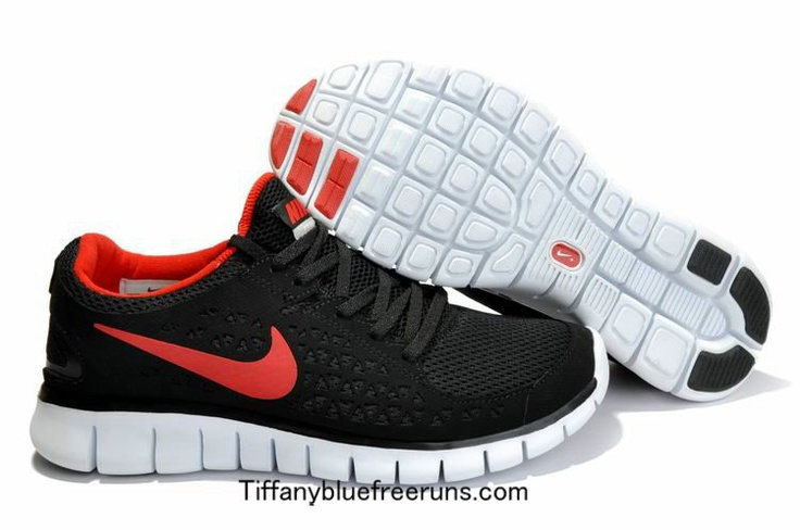 cheapshoeshub com Cheap Nike free run shoes outlet, discount nike free shoes  Mens Nike Free Runs Black Red