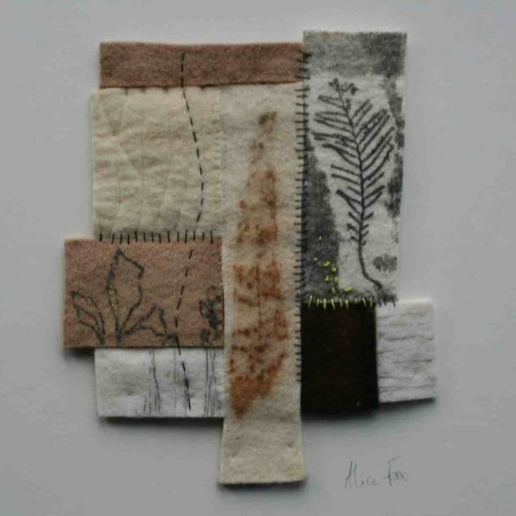 Image of Printed Fragments #2 alice fox