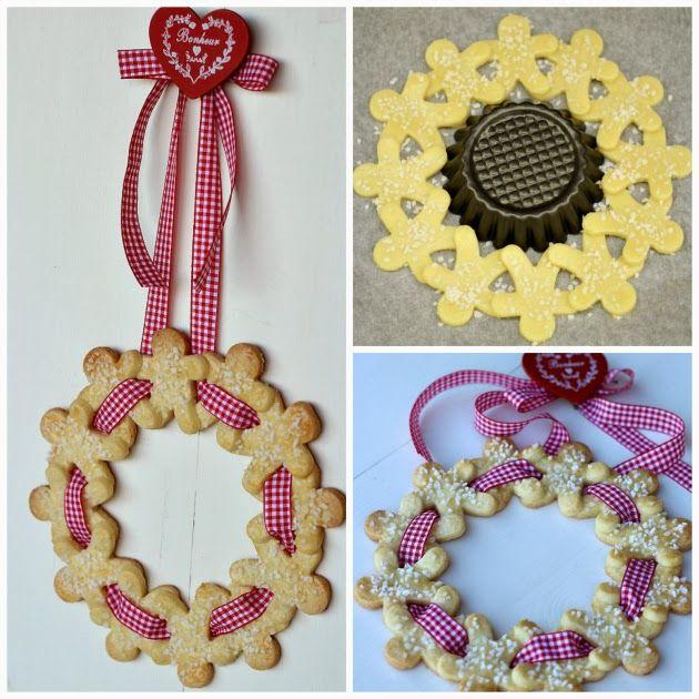 Chiarapassion: Gingerbread, Pan di Zenzero e Ghirlanda di biscotti