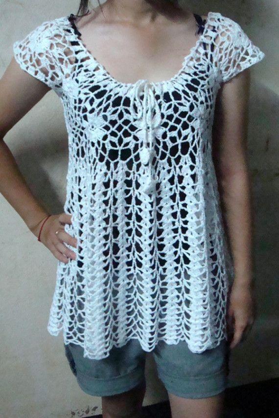 Handmade Crochet Shirt/Top
