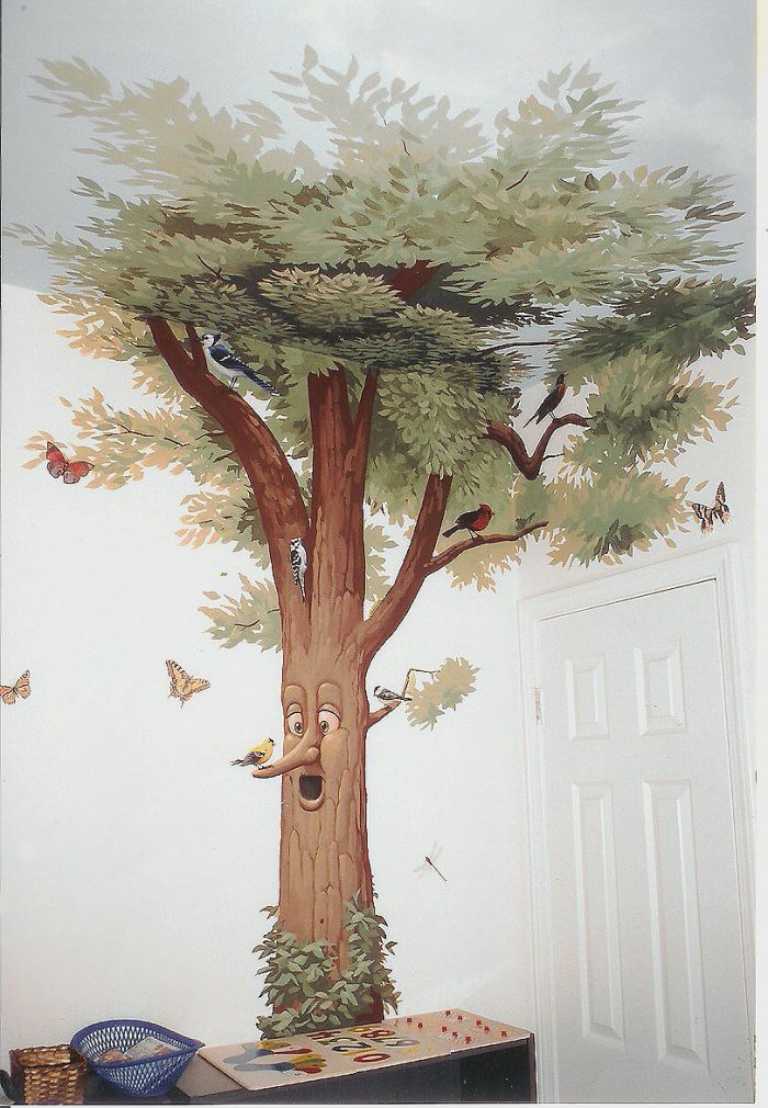 Tree Murals Bing Images Nursery Wall Murals Bedroom