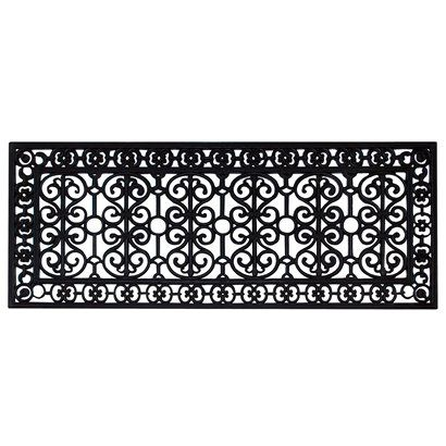 Smith Amp Hawken 174 Decorative Black Rubber Door Mat Room