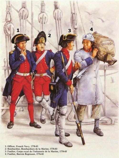 """Oléron 1779 : Un héros tombé dans l'oubli : La flottille partie de Brest pour la Martinique (cf guerre d'indépendance de l'Amérique) mouille dans la rade de l'île d'Aix quand , dans la nuit du 4 au 5 Mai , le navire est """"jeté"""" dans le pertuis d'Antioche. Des lames enlèvent plusieurs soldats.Le sous- lieutenant Pignol de Rocreuse garde son sang-froid et empêche les hommes de sombrer dans le ....... désespoir."""