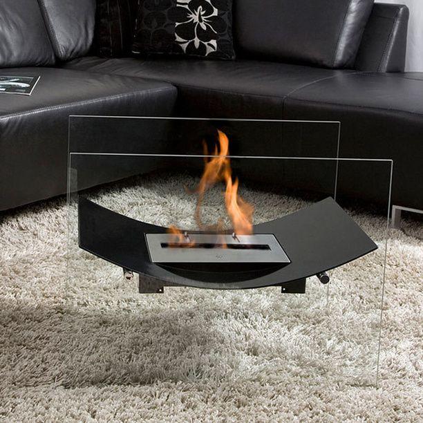 Floating Veniz fireplace