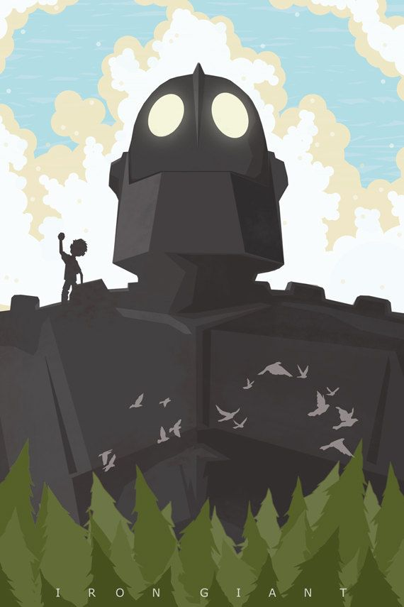The Iron Giant Limited Edition 13x19 movie by bigbadrobot
