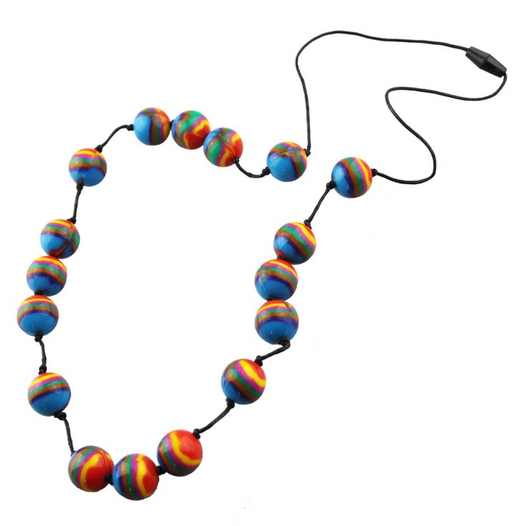 Gorgeous rainbow beads...go on.. you know you want to!