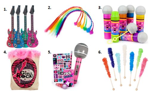 Rock Star Birthday Party Ideas for Kids #KidsParties