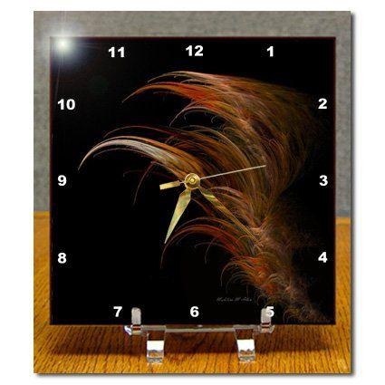 dc_6687_1 SmudgeArt Fractal Art Designs - Angel Wing - Fractal Art - Desk Clocks - 6x6 Desk Clock 3dRose http://www.amazon.com/dp/B0046DLIFS/ref=cm_sw_r_pi_dp_nZQbwb0KD363H