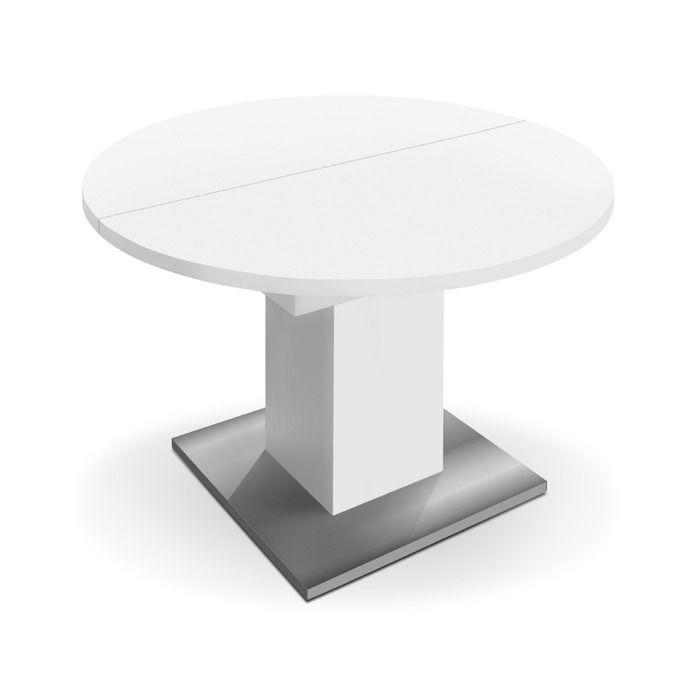 Mausbacher Esstisch Mit Auszug Hugo 104 144 Cm 104 Weiss Kunststoff In 2020 Esstisch Tisch Und Kunststoff