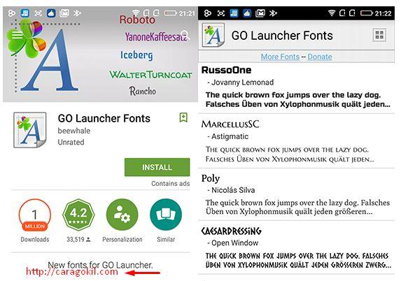 Cara Mudah Merubah Font Android Tanpa Root