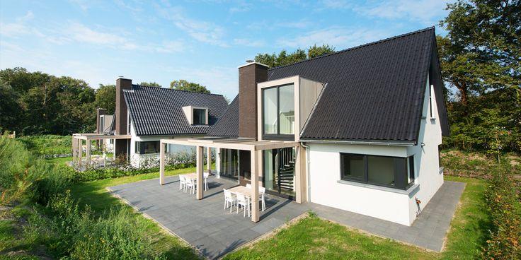 Vijf stuks hotelvilla 39 s duinzicht z wonen architectuur pinterest projects and search - Fotos eigentijdse huizen ...