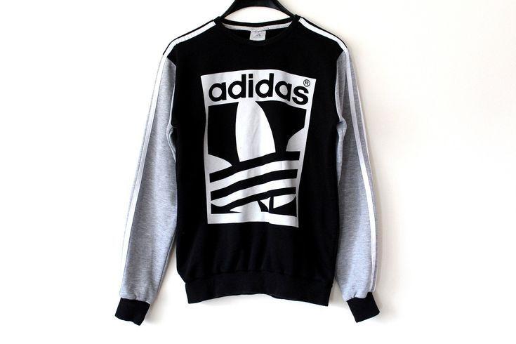 schwarz grau adidas pullover