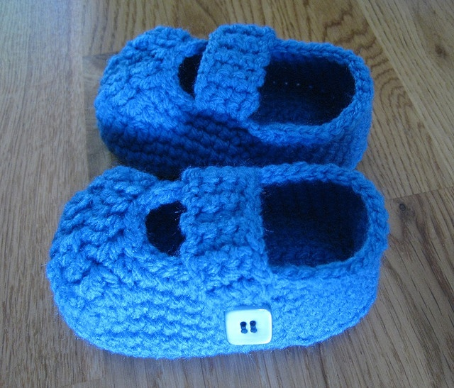 Simple Baby Booties Things For Baby Pinterest ...