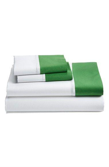 Kate Spade sheet set, size full, kelly green