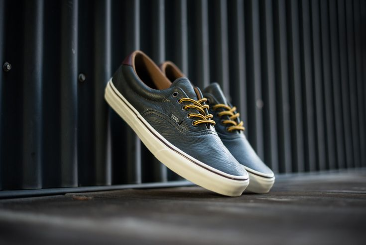 Vans California Era 59 Pebble Leather - Shadow | Sole Collector
