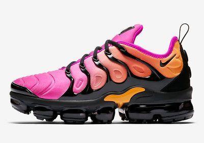 100% authentic 6c260 d4ad6 Nike W Air Vapormax Plus Sherbet AO4550-004 Pink Orange Womens Running Shoes  NIB