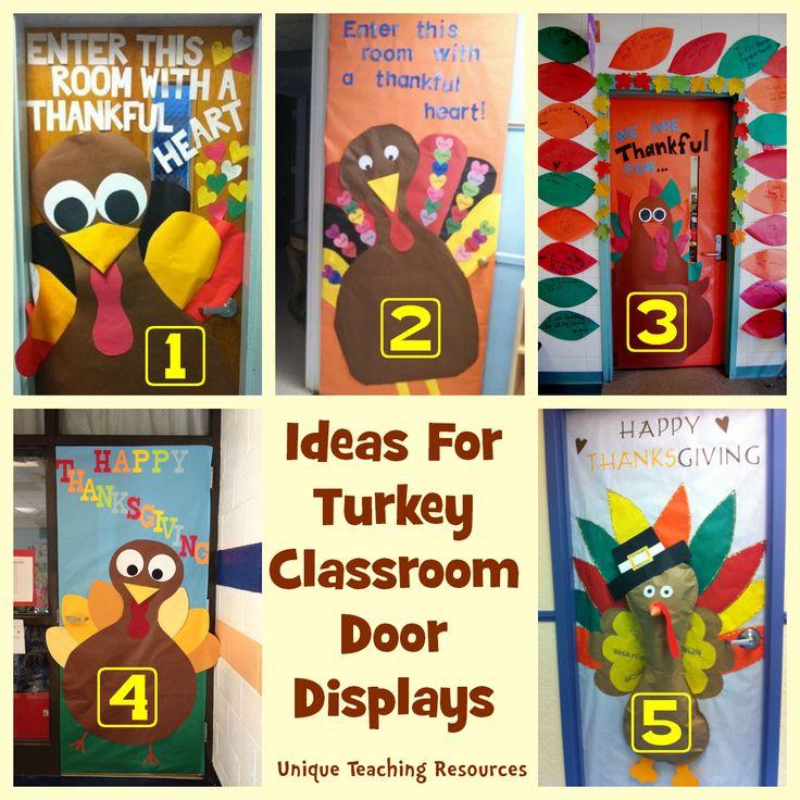 Classroom Ideas For November : Best classroom doors images on pinterest
