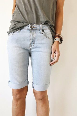 Cute knee-length shorts