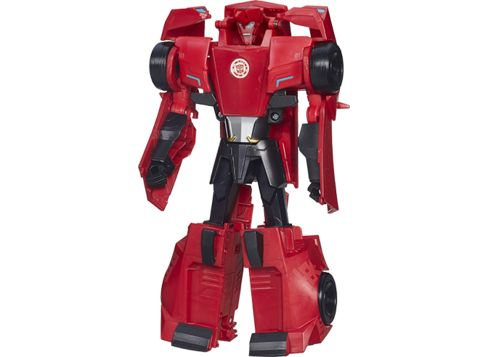 TRANSFORMERS 3-Step Changer-figur, Sideswipe
