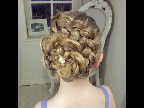 Dutch Flower Braid How to Video Tutorial by SweetHearts Hair Design