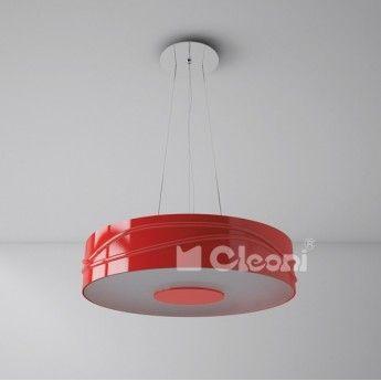 Nowoczesna lampa wisząca z serii Nuoro - producent Cleoni. #Cleoni #Nuoro #polskie_lampy #lampy_wiszące #lampy_do_salonu #design #interior #abanet_kraków #lampy_abanet #lampy_kraków