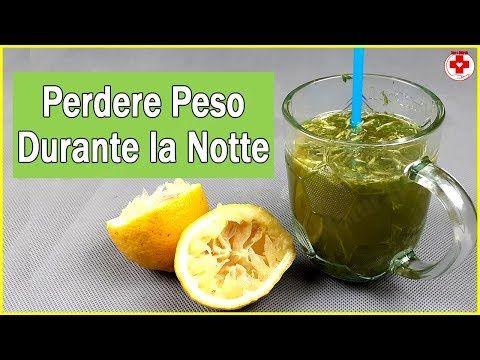 il succo verde per perdere peso prima di dormire