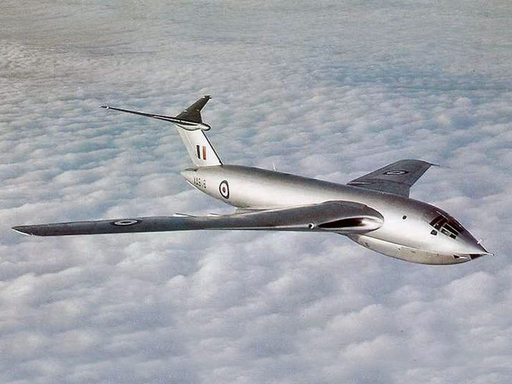 Handley Page Victor. To think this beautiful plane (as well as the Vulcan) was designed and built within just 7 years after WW2!!