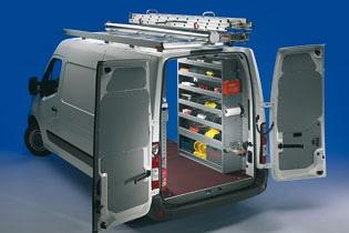 Modello di Officina Mobile Store Van per  Nissan NV400