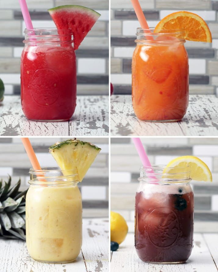 4 Fruit-Packed Refreshers