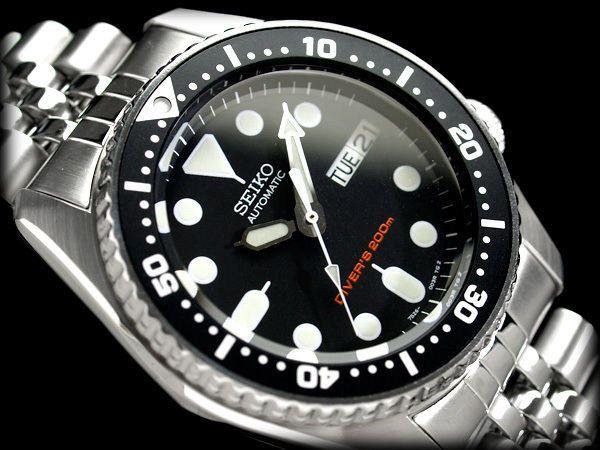 SEIKO Diver SKX013K2 Black Boy Jubilee Orologio Subacqueo Diver Watch 200m