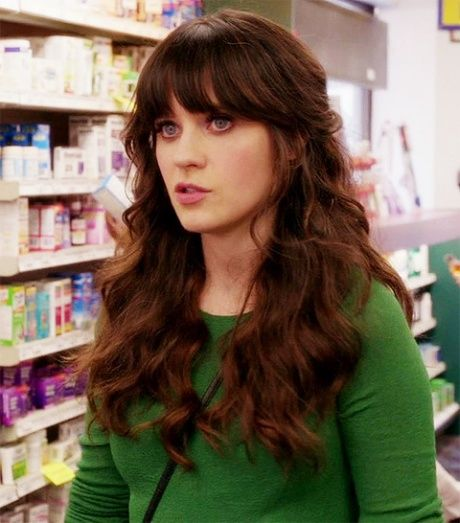 hairstyles for haircuts i a hair crush on zooey deschanel hair amp makeup 5726